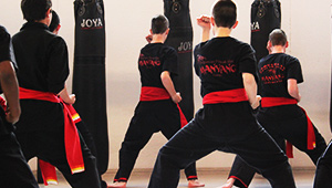 Pencak silat training