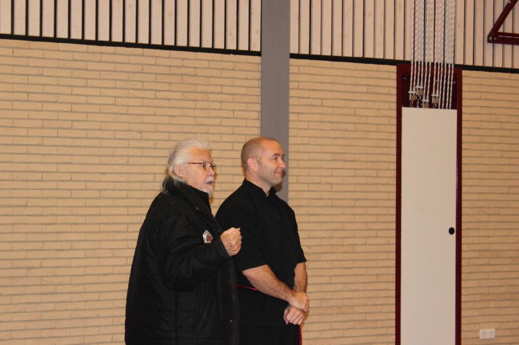 Onze Guru met mas Olivier