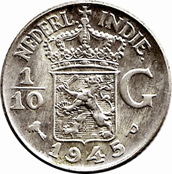 10 cent uit Nederlands-Indië