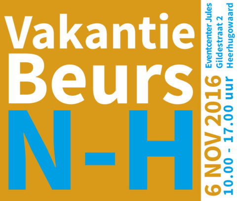 logo vakantiebeurs Noord-Holland 2016