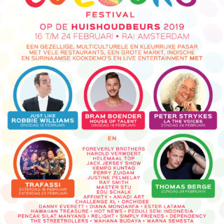 Pasar Colours Festival op de Huishoudbeurs 2019