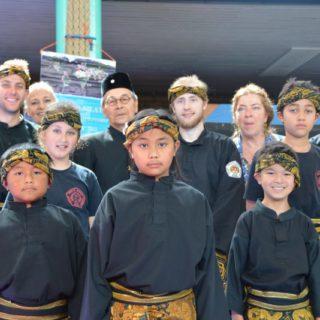 Deelnemers van Manyang tijdens het Seni festival Satria Muda